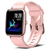 Blackview Smartwatch, Fitness Uhr Voller Touch Screen Fitness Tracker mit Pulsmesser, 5ATM...