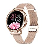 Smart Watch Smart Watches for Women, Waterproof Fitness Watch, Touch Screen Activity Trackers, Sleep...