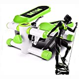 Apoliena Mini Fitness Device Incl. 2 in 1 Stepper Up-Down Stepper with Multifunction Display Fitness...