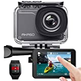 AKASO Action Cam/4K/30fps 20MP Action Camera mit Touchscreen, 30m...
